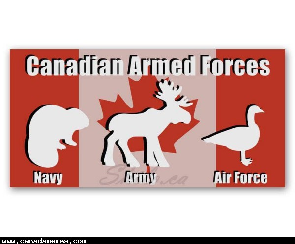 🇨🇦 Canadian Armed Forces