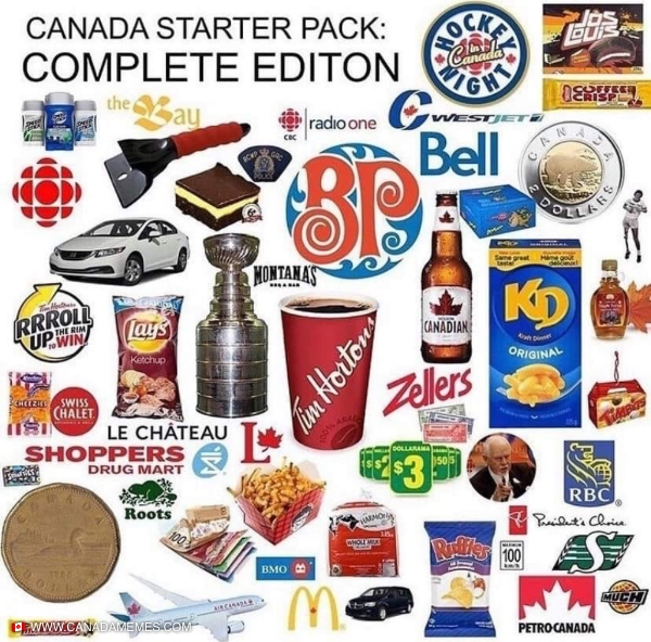 The ultimate Canadian starter pack!