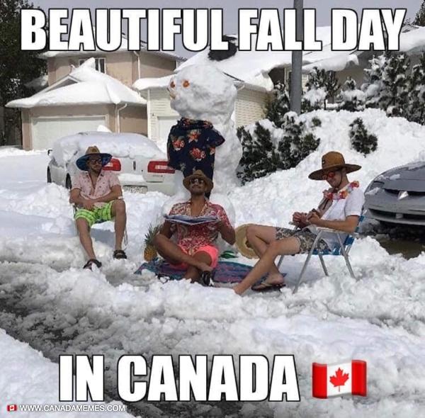 Beautiful Fall Day in Canada
