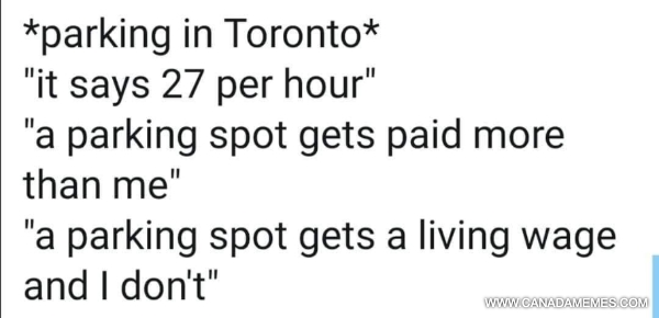 Parking spots in Toronto get a living wage