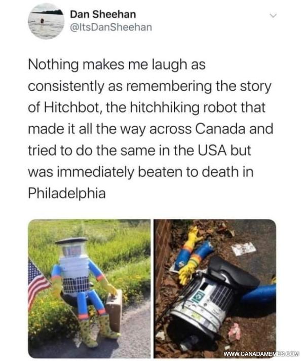 RIP Hitchbot