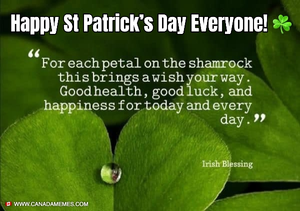 Happy St Patrick's Day Everyone! ☘️