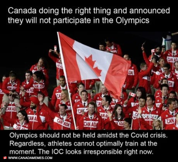 Canada has pulled out of the olympics