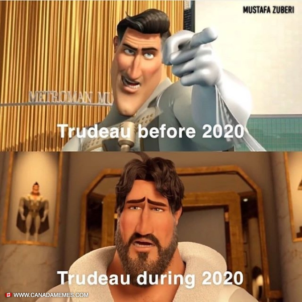 Trudeau: Before and during 2020