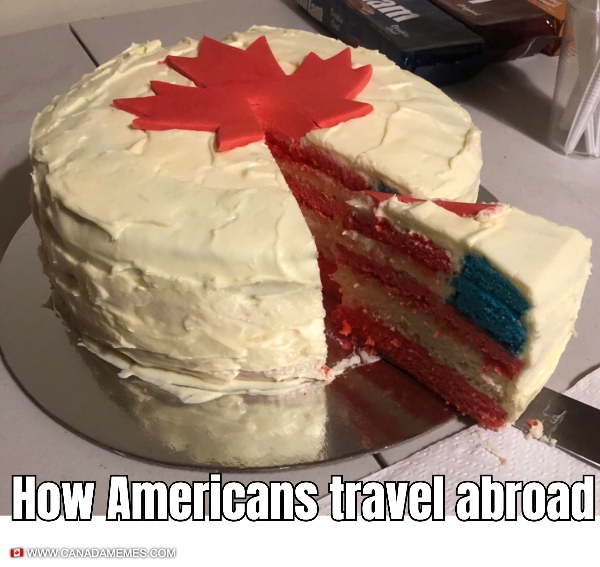 How Americans travel abroad