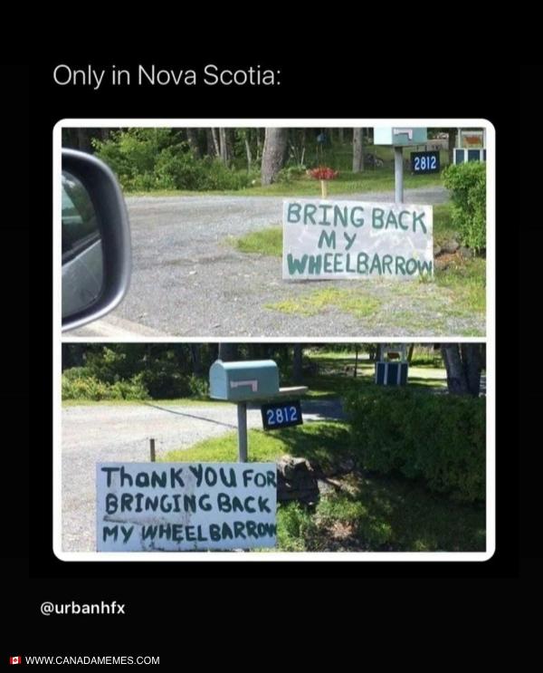 Only in Nova Scotia