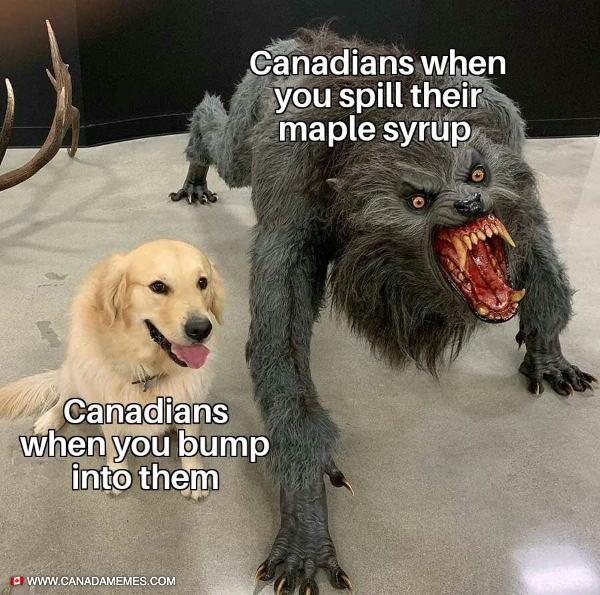 How to trigger a Canadian