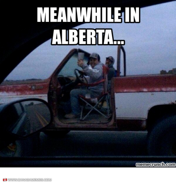 Meanwhile in Alberta
