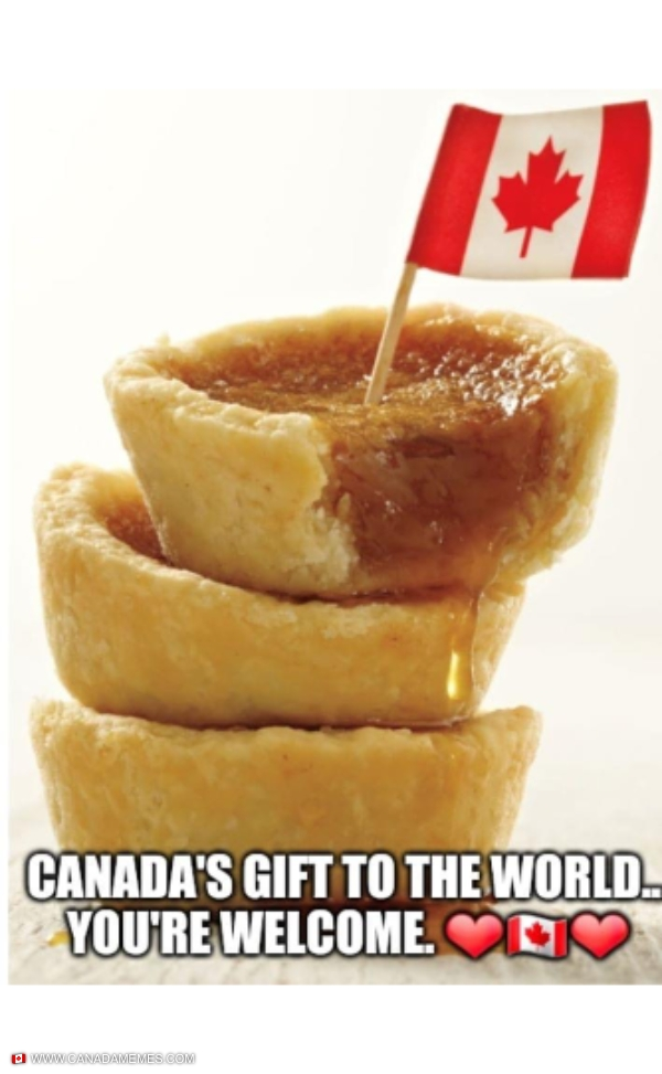 Butter Tarts. Canada's gift to the world.