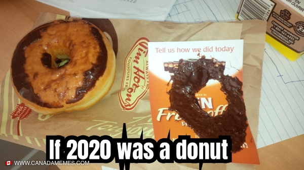 If 2020 was a donut