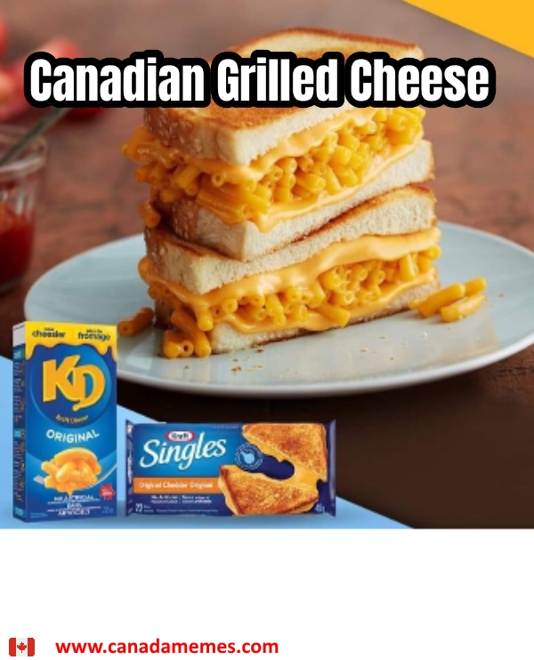 Canadian Grilled Cheese