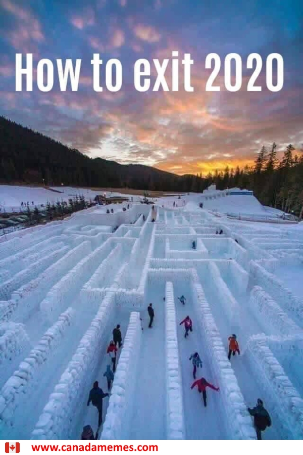 How to exit 2020