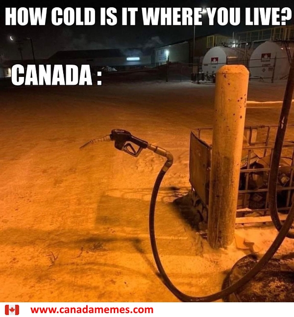 THAT Cold....