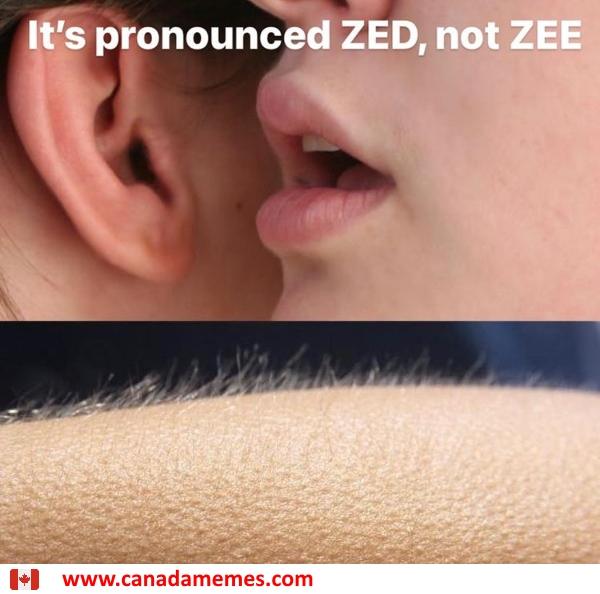 It's pronounced ZED, not ZEE