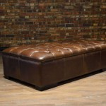 The King Arthur Rectangular Leather Ottoman Collection Canada S Boss Leather Sofas And Furniture