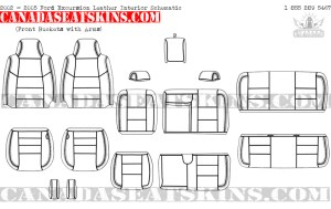 2000  2005 Ford Excursion Leather Upholstery