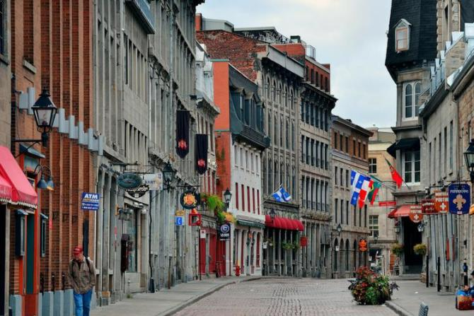 European flair in Montreal and Quebec City