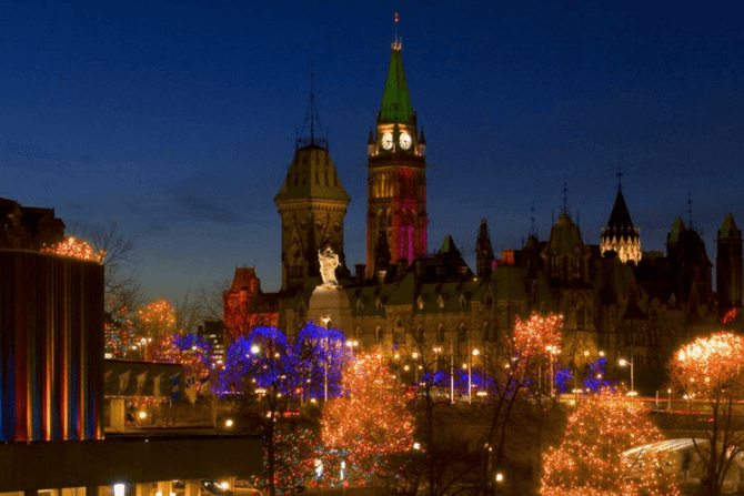 Christmas in Ottawa