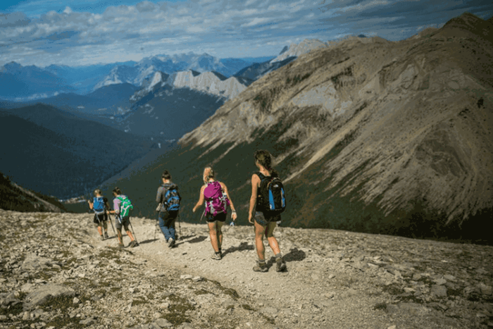 Walking tours in Canada - Jasper