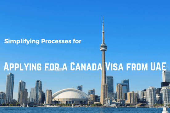 Applying for Canada visa from UAE