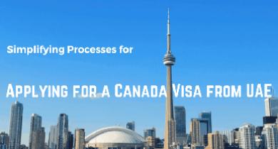Applying for Canada visa from UAE