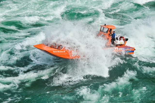 Whirlpool Jet Boat Tours is one of the best things to do near niagara waterfall