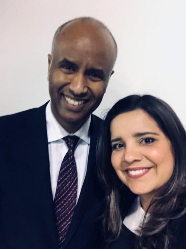 Reunião com o Ministro da Imigração canadense Ahmed D. Hussen