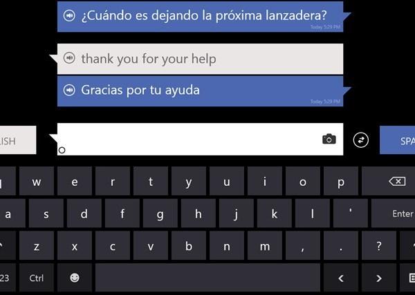 Bing Translator App for Windows 8