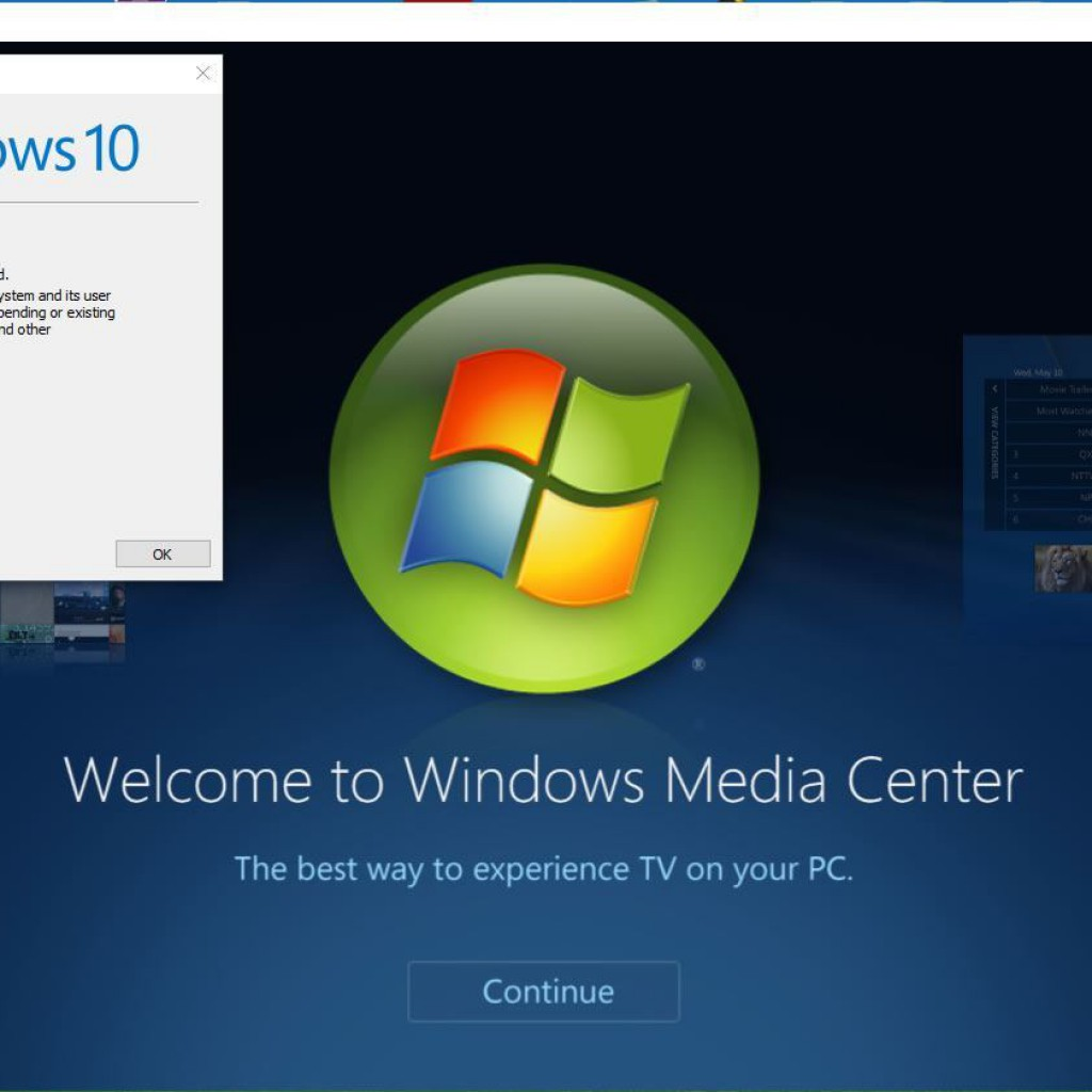 Install Windows Media Center for Windows 10 - Canada Web