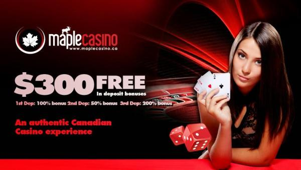 5 Free Money at Maple Casino Canada