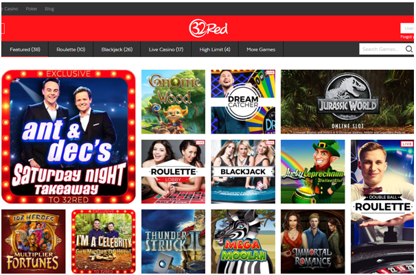32 red online casino- Games