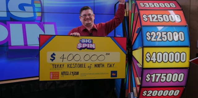 How to check big spin $5 lotto results