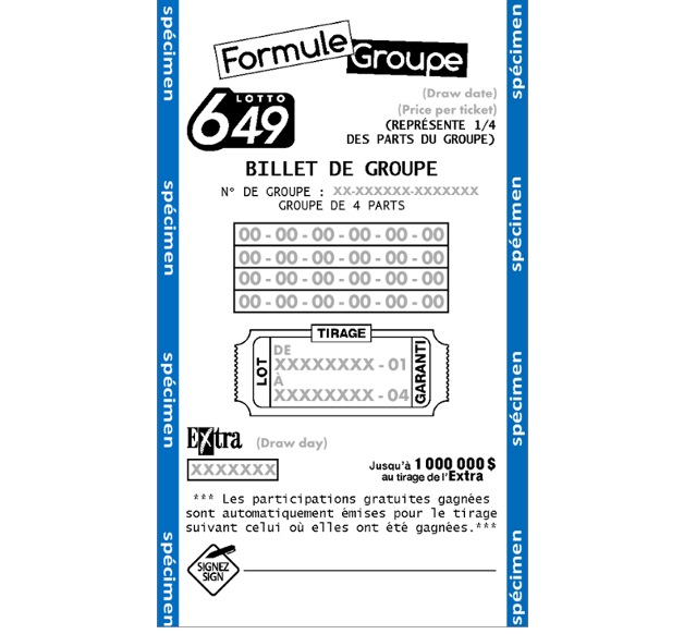 Formule group Quebec lottery
