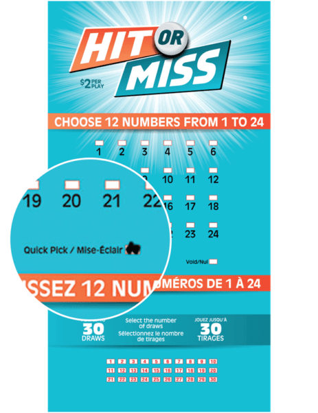 Hit or Miss- OLG Lottery Ticket