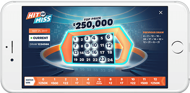 Hit or Miss- OLG Lottery game- Where to get the results instantly