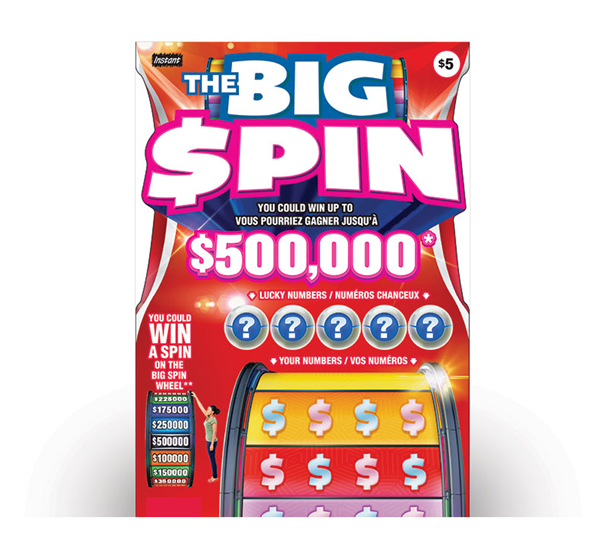 How to play Big Spin $5 Lotto