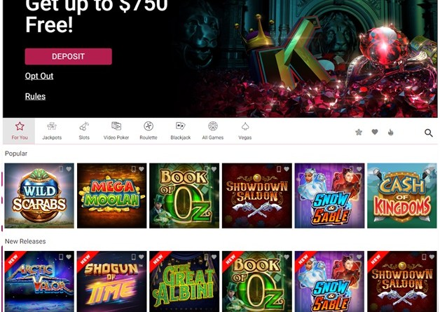 Is PayPal available to make a deposit and withdrawal using Paypal at Ruby Fortune Casino?