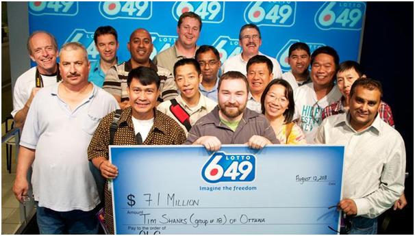 Winners of Lotto 649