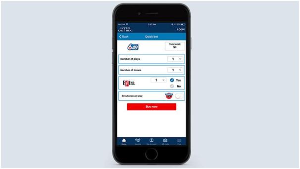 Lotto Quebec App for iOS
