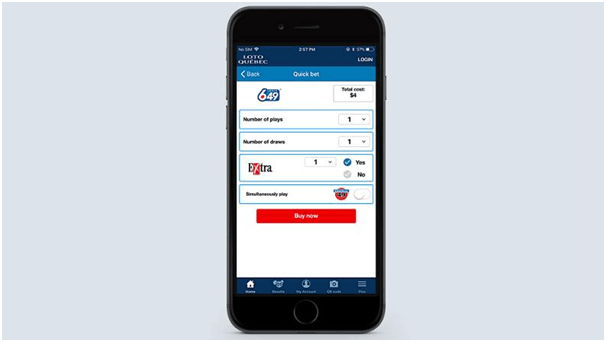 Lotto Quebec App for iOS