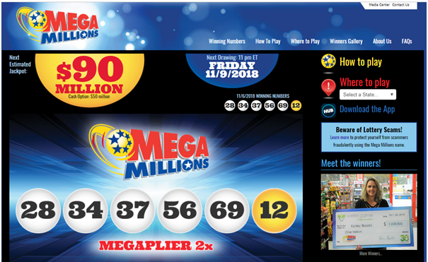 How to play Mega Millions Lottery US in Canada
