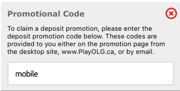 OLG Bonus Code
