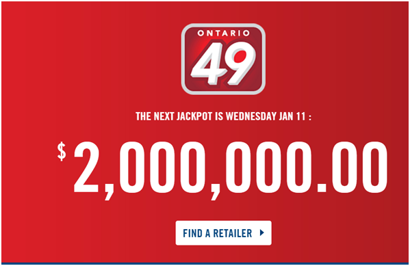 Ontario 49 Lottery Results Canada