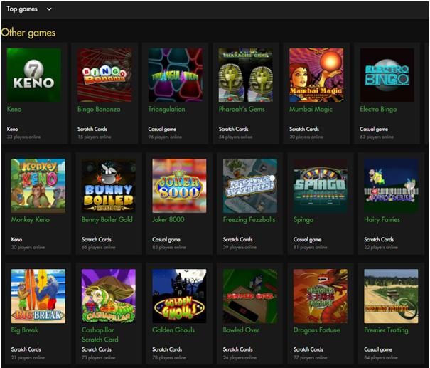 Rich Casino- Games