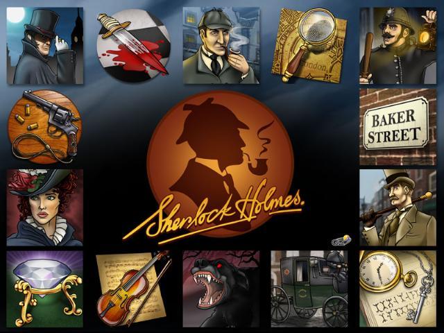 Bonus game in Sherlock Holmes slot