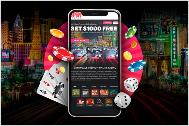 Spin Palace Casino - Getting started