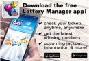 How to check lottery results with WCLC's free Lottery Manager App?