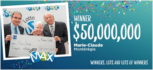 Winner Lotto Max