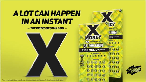 X Money Lotto- How to play in Ontario