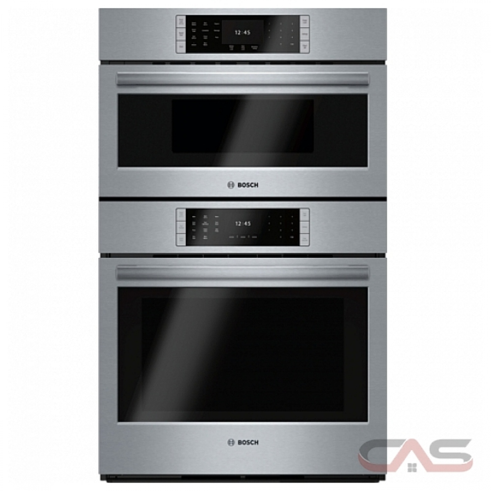 bosch benchmark series hblp752uc speed oven 30 inch exterior width both compartments convection one compartment self clean 6 2 cu ft capacity